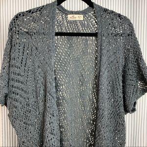 🌼 Hollister Short Sleeve Cardigan